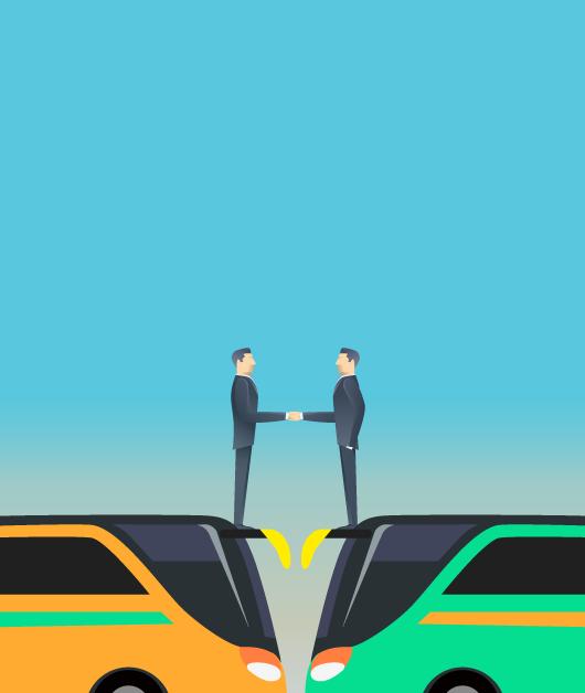 La unión hace la fuerza y el inevitable destino de las empresas de autobús